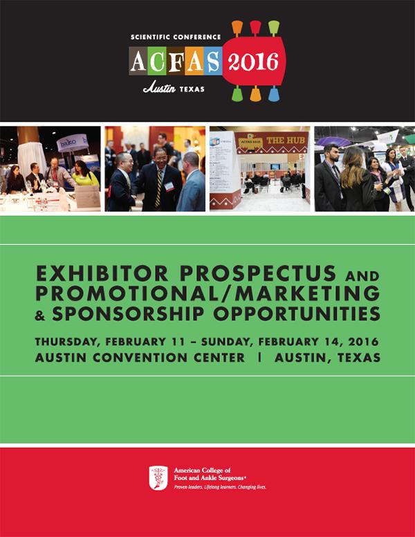 ACFAS 2016 Austin Prospectus_Cover