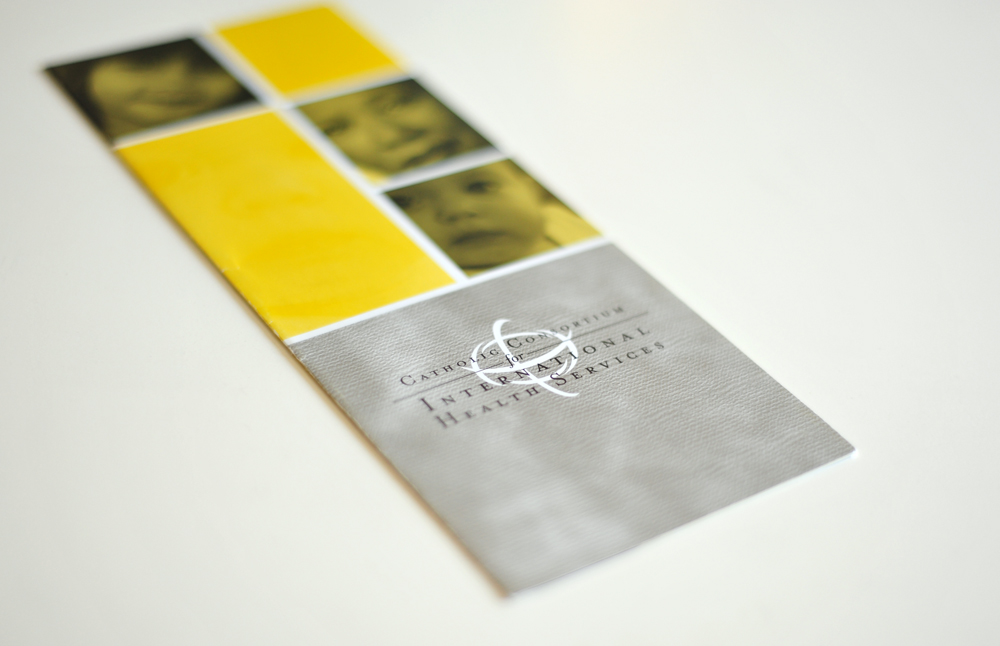 International Healthcare Brochure and Logo