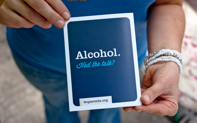 Alcohol, had the talk?brochure