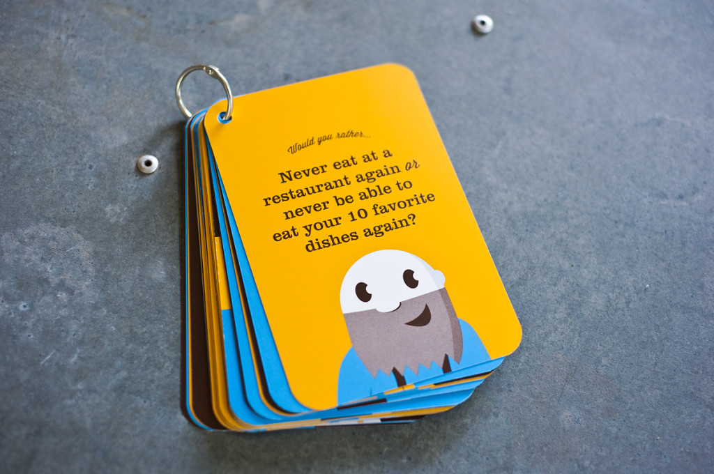 a sample fo conversation cards