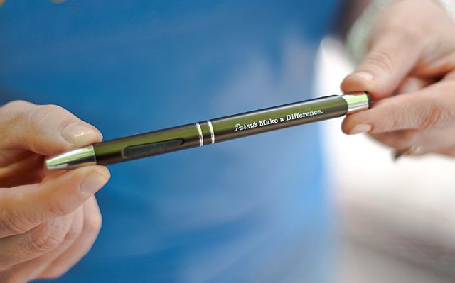 Parents make a difference pen
