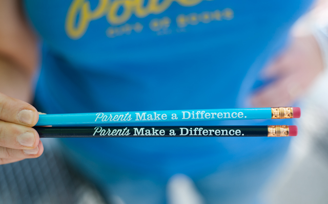 Parents make a difference pencils